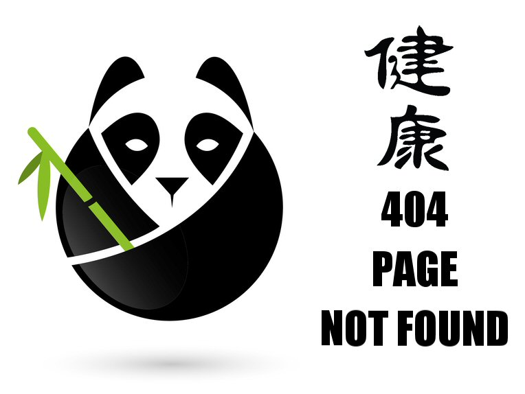 404 Page Not Found Panda